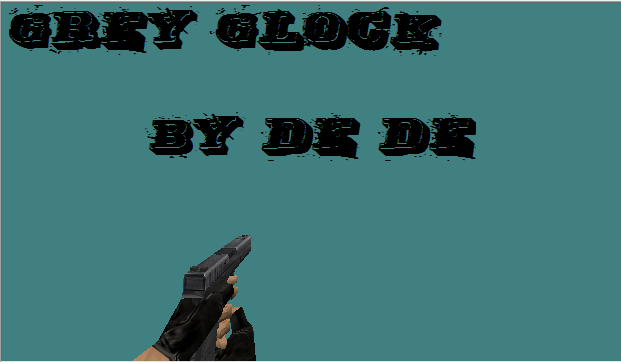Grey glock | By De De :)