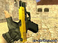 [NEW]Model GOLD Glock by Djoker
