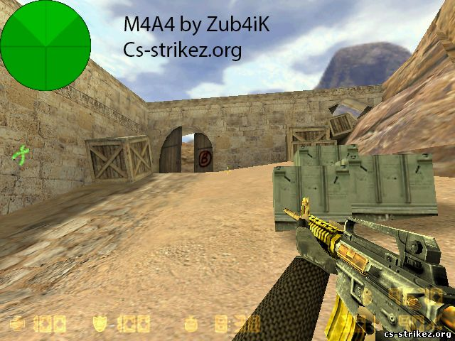 M4A4_Gold_and_Silver