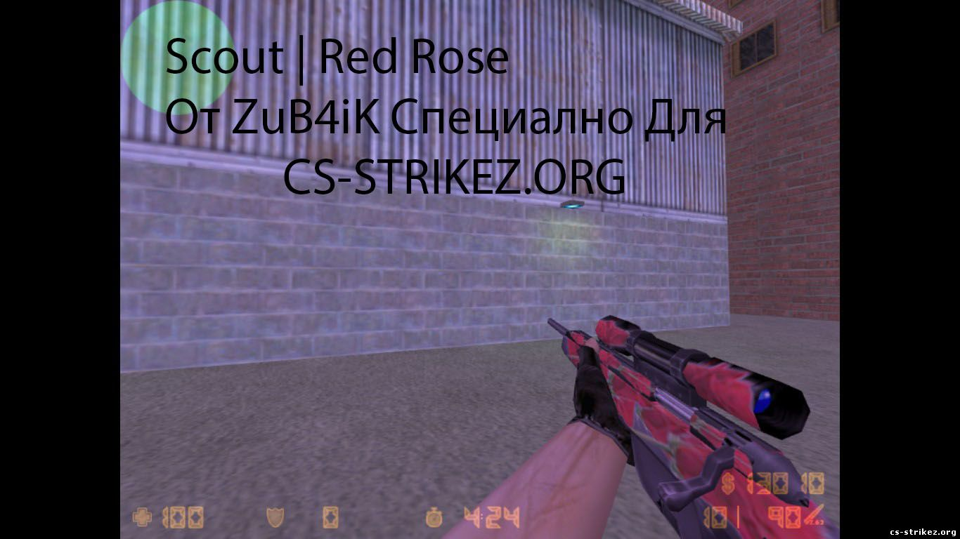 Scout | Red Rose