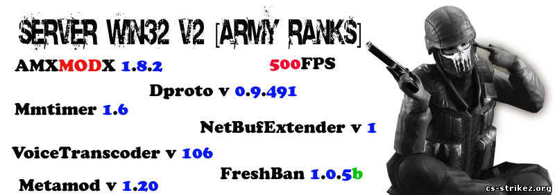Готовый Server 6153_v2 [Army Ranks]