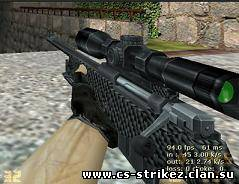 Carbon Fiber V1 Default AWP re-skin by VLADDI4OK
