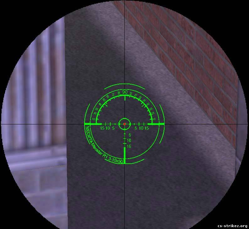 Professional sniper scope