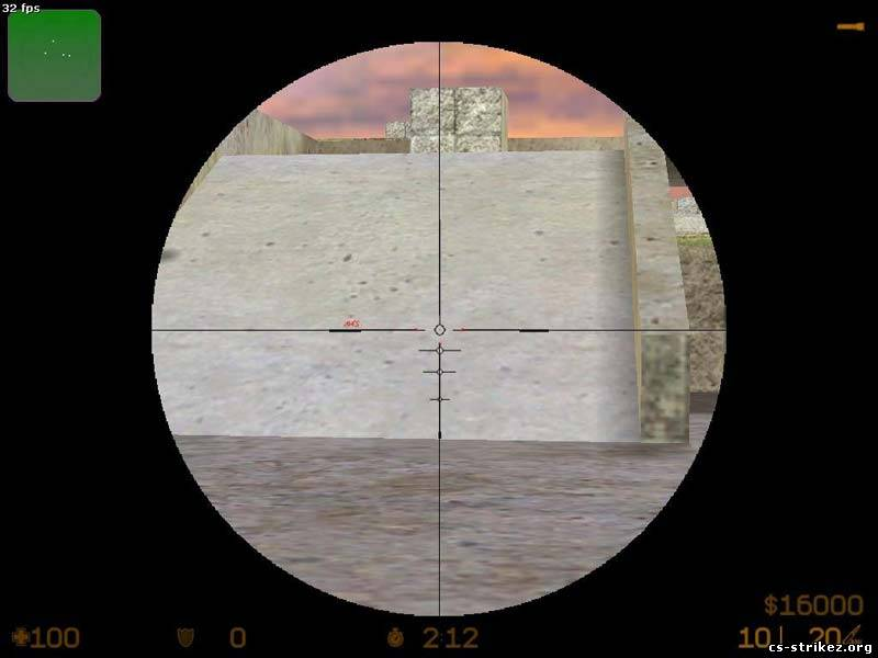 Simple aim scope