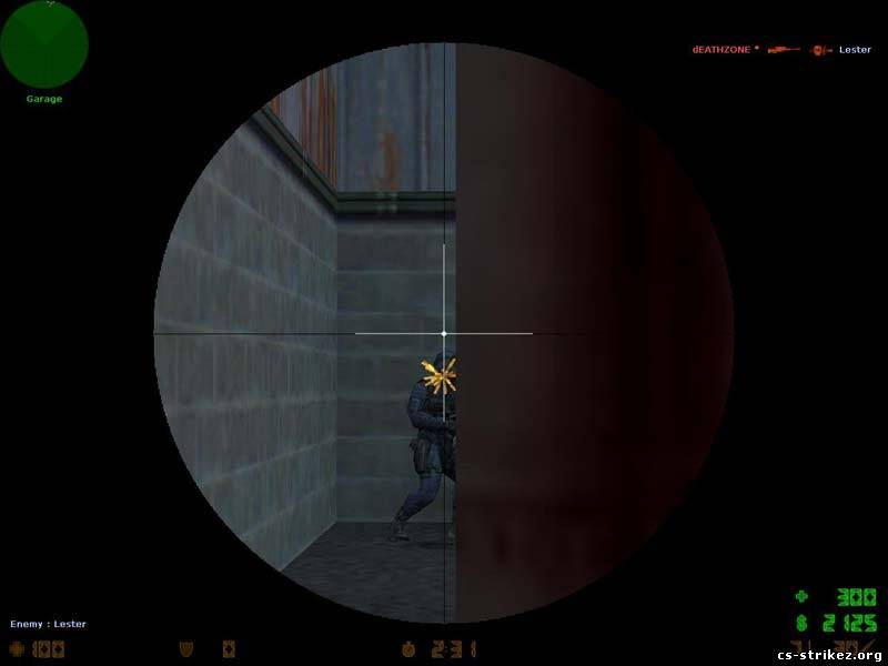 White Lines Sniper Scope